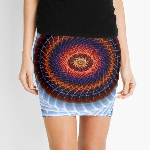 Concentricity Colour Mini Skirt