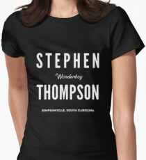 Stephen 'Wonderboy' Thompson Women's Fitted T-Shirt