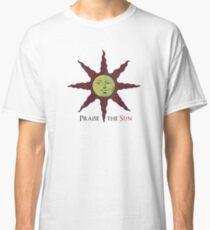 Templar medieval sun Classic T-Shirt