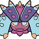 Pokedoll art Toxapex by methuselah
