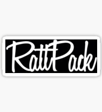 Rattpack (black) Sticker
