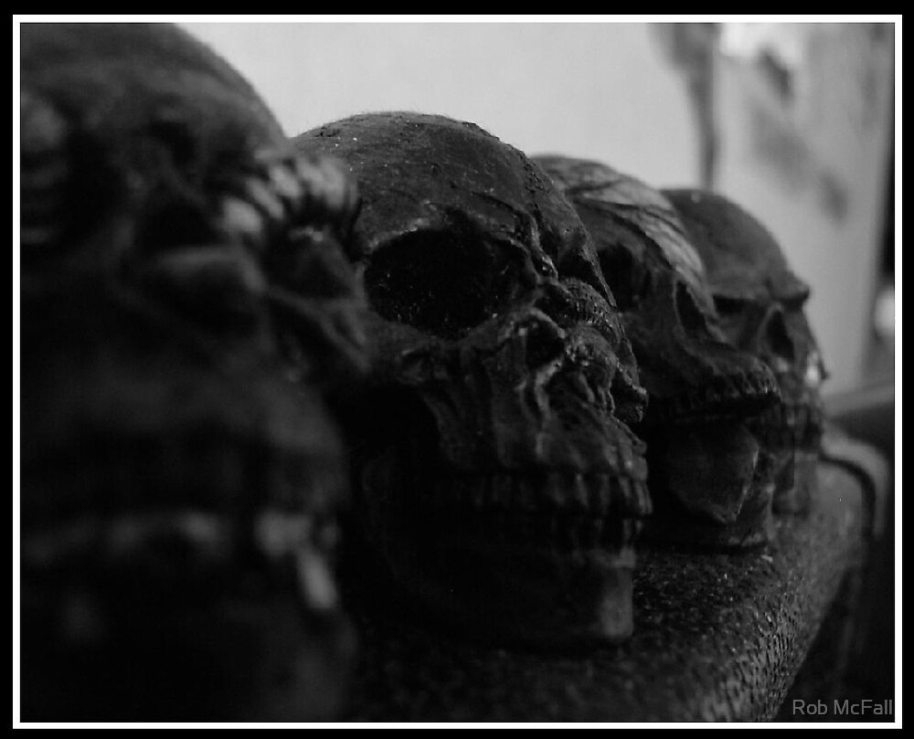 Dusty Skulls. by Rob McFall