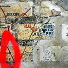 Métro, collages, déchirures by Yves Roumazeilles
