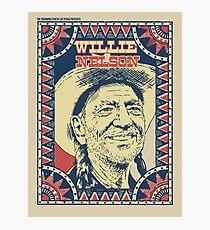 Willie Nelson, The Cosmopolitan Of Las Vegas Presents Photographic Print