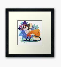 Dumb Fox Framed Print