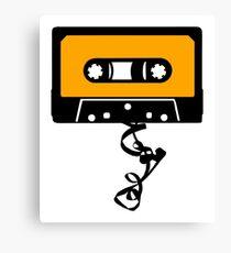 Cassette Tape Jam Canvas Print