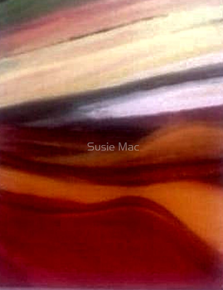 Sunset River 2 by Susie Mac