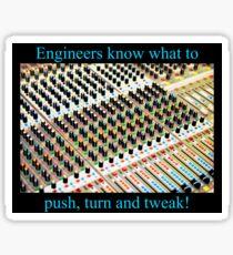 Sound Engineer Graphic Sticker