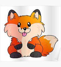 Chibi Fox Poster