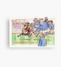 Coot Rugby Metal Print