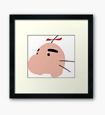 Mr Saturn Framed Print
