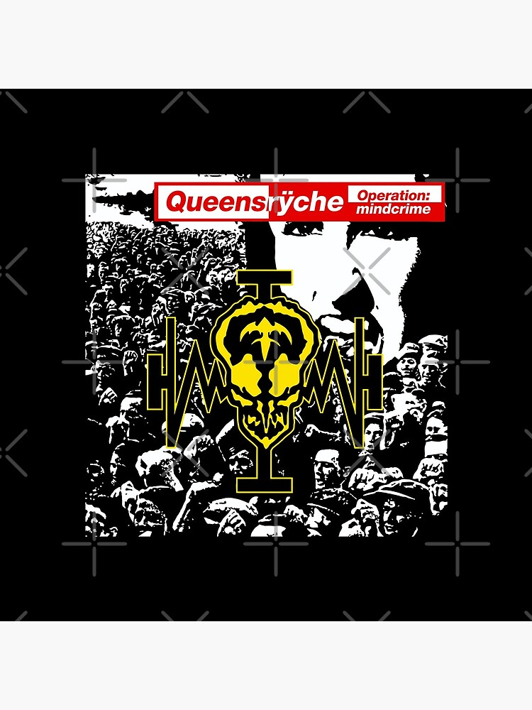 Queensryche Operation Mindcrime Album Cover by orinemaster