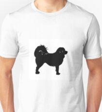 tibetan mastiff silhouette T-Shirt