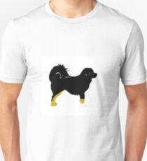 tibetan mastiff color silhouette T-Shirt