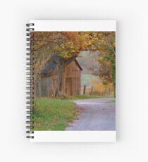 Past the Kentucky Barn  Spiral Notebook
