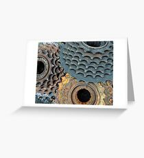 Cog Trio Greeting Card