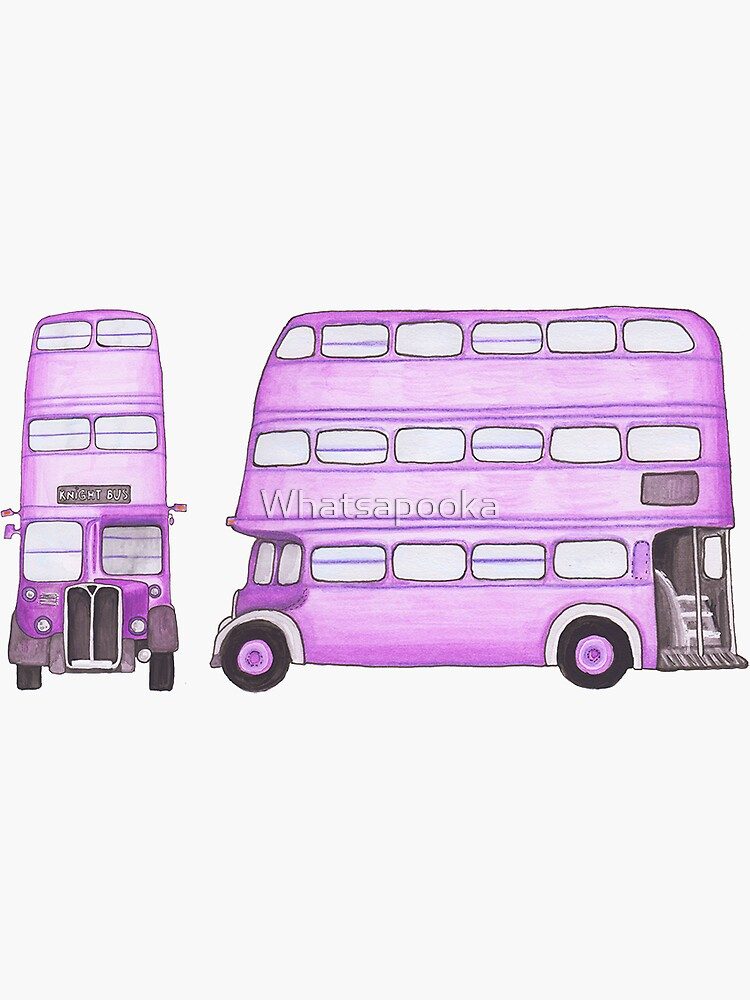 Big Purple Bus by Whatsapooka
