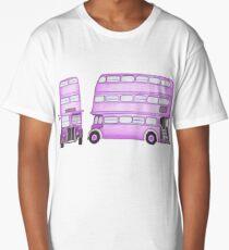 Big Purple Bus Long T-Shirt