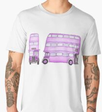 Big Purple Bus Men's Premium T-Shirt