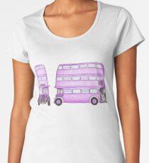 Big Purple Bus Women's Premium T-Shirt