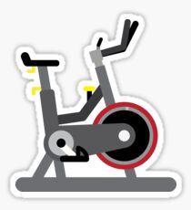 Spin Bike Sticker
