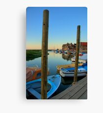 Blakeney Harbour Canvas Print