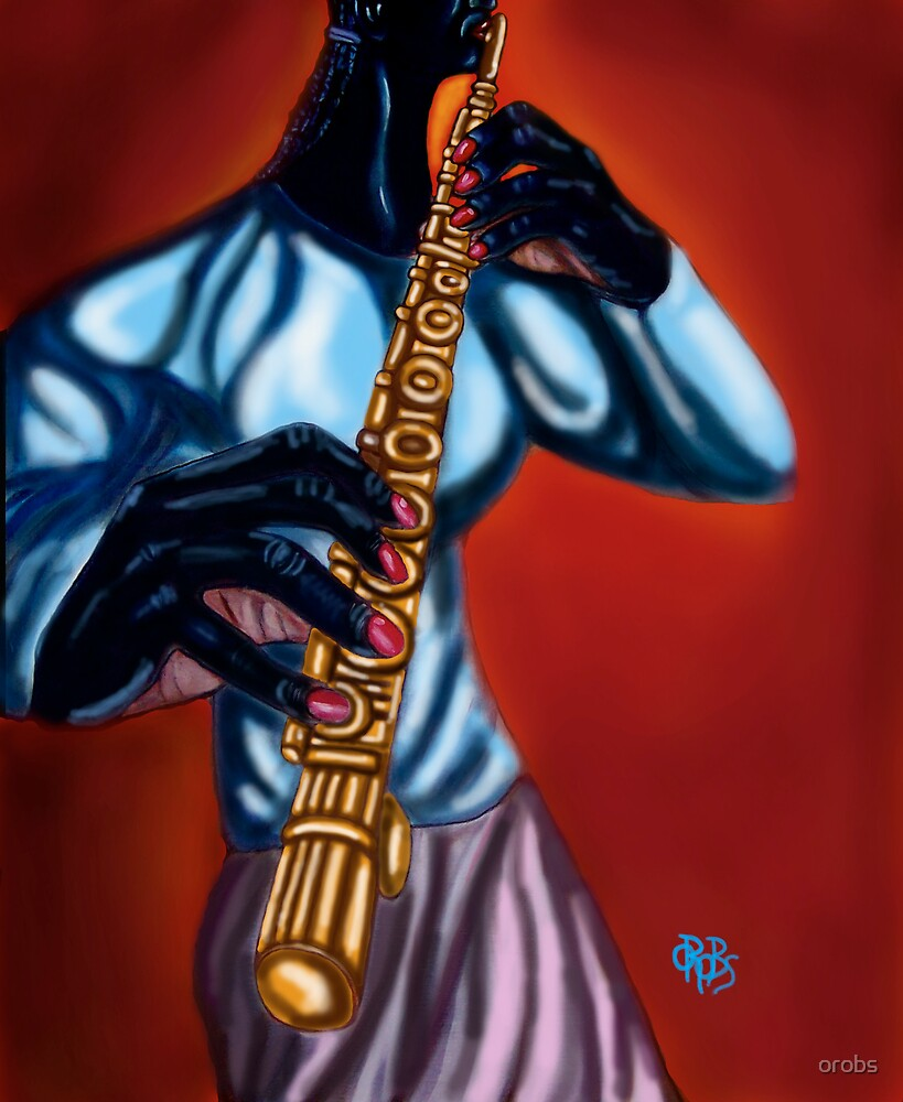 The Flutist by orobs