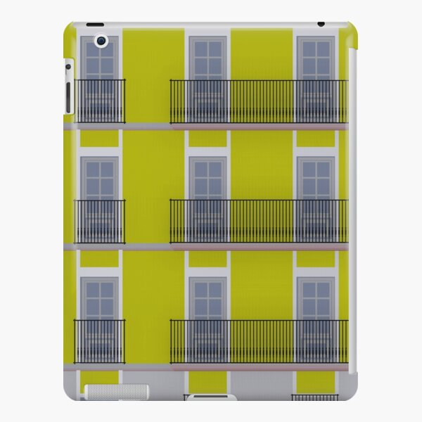 Yellow building facade iPad Snap Case