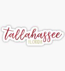 Tallahassee, Florida Sticker
