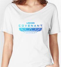 Alien Covenant Blue Women's Relaxed Fit T-Shirt