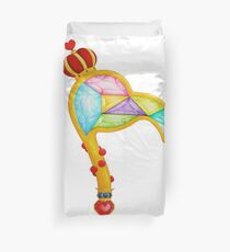 Scepter of the Queen of Heart Duvet Cover