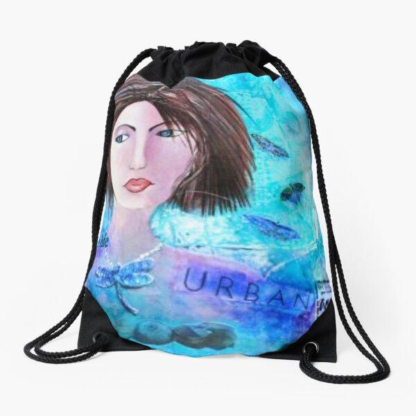 Urban Angel Drawstring Bag