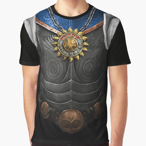 Dungeon Adventurewear: Cleric Graphic T-Shirt