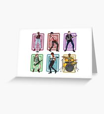 Voltron (band au group) Greeting Card