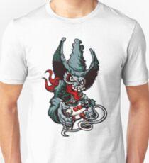 Gamer Skull -  Bermuda Grey T-Shirt