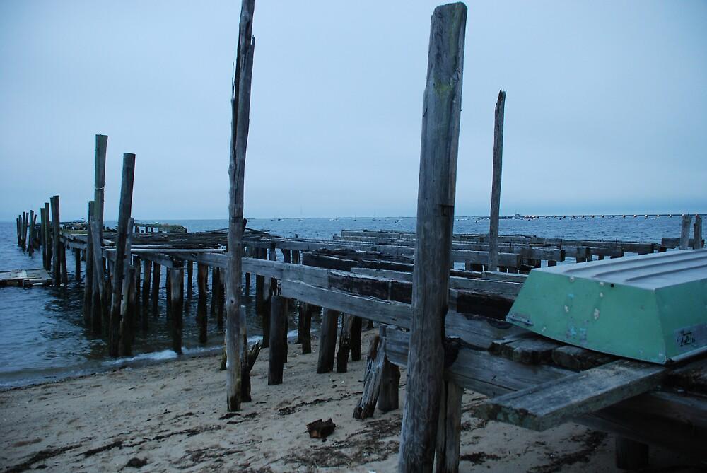 Old Dock by Heather Giangregorio