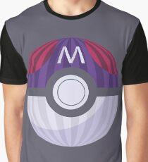 Striped Masterball Graphic T-Shirt