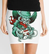 Gamer Skull - Monte Carlo Mini Skirt