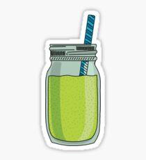 Green smoothie sticker  Sticker