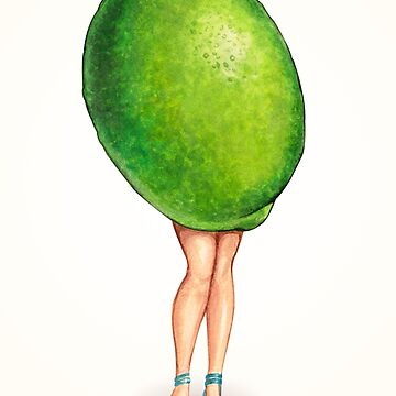 Fruit Stand - Lime Girl by KellyGilleran