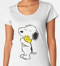 Snoopy and Woodstock Women's Premium T-Shirt