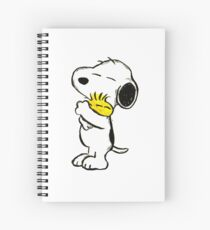 Snoopy and Woodstock Spiral Notebook