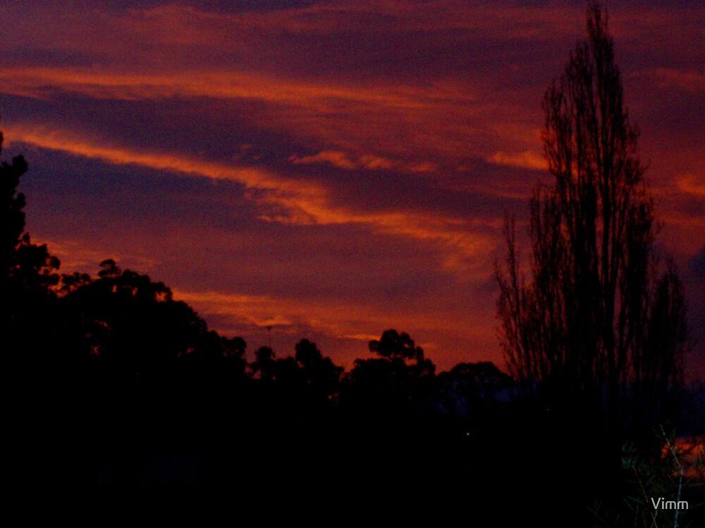 Sunday night sky by Vimm