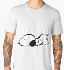 Snoopy sleeping Men's Premium T-Shirt