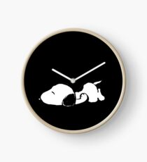 Snoopy sleeping Clock