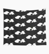 Snoopy sleeping Wall Tapestry