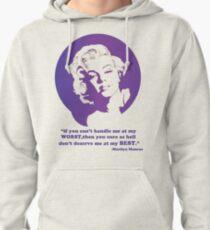 Marilyn Monroe Pullover Hoodie