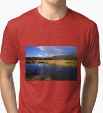 Tranquil Yellowstone Tri-blend T-Shirt