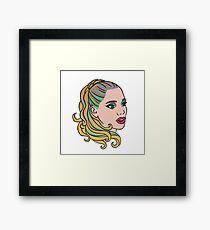 Nomi Malone Is Goddess Framed Print