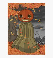 Enoch Over the Garden Wall Photographic Print